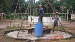 The Water Project:  Bailing