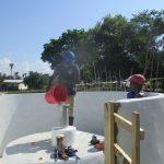 The Water Project: Lokomasama, Menika, DEC Menika Primary School -  Chlorination