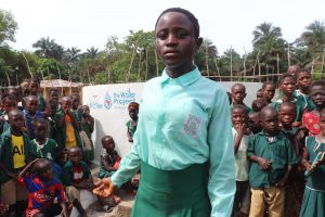 The Water Project:  Head Girl Makes Speech