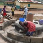 The Water Project: Lokomasama, Menika, DEC Menika Primary School -  Pad Construction