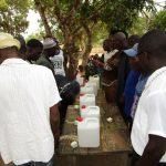 The Water Project: Lokomasama, Menika, DEC Menika Primary School -  Preparing To Construct Tippy Taps