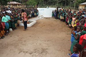 The Water Project:  Students And Community Gather For Dedication