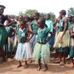 The Water Project: Lokomasama, Menika, DEC Menika Primary School -  Students Dancing