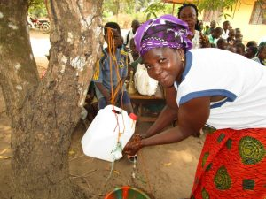 The Water Project:  Washing Hands With New Tippy Tap