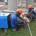 The Water Project: Lokomasama, Menika, DEC Menika Primary School -  Yield Test