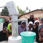 The Water Project: Lungi, Masoila, #3 Kamara Street -  Children Celebrate A Their New Well