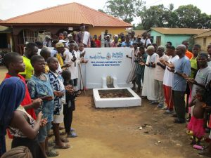 The Water Project:  Community Member Praying For Miralem