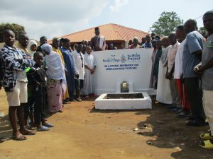 The Water Project:  Community Members At The New Well