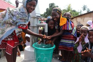 The Water Project:  Girls Celebrate At The Well