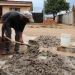 The Water Project: Lungi, Masoila, #3 Kamara Street -  Pad Construction