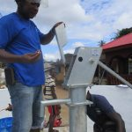 The Water Project: Lungi, Masoila, #3 Kamara Street -  Pump Installation