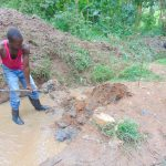 The Water Project: Kimarani Community, Kipsiro Spring -  Opening The Drainage Channels