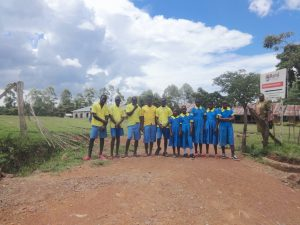 The Water Project:  Pupils At The School Entrance