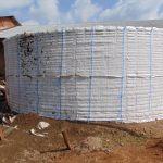 The Water Project: Kosiage Primary School -  Rain Tank Skeleton Raised