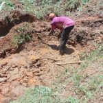 The Water Project: Kisasi Community, Edward Sabwa Spring -  Spring Excavation