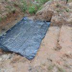 The Water Project: Kimarani Community, Kipsiro Spring -  Preparing The Foundation