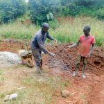 The Water Project: Shikhombero Community, Atondola Spring -  Preparing Materials