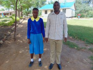The Water Project:  Student Ivy And Head Teacher Mr Bethuel Burmen