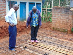 The Water Project:  Inspecting Latrine Pits And Foundation