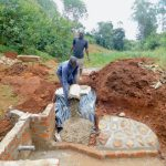 The Water Project: Shikhombero Community, Atondola Spring -  Stair Construction