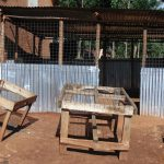The Water Project: Kitagwa Secondary School -  Dishracks Outside The Kitchen