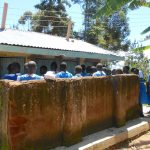 The Water Project: Gimarakwa Primary School -  Girls At Their Latrines