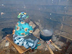 The Water Project:  School Cook At Work Inside Kitchen