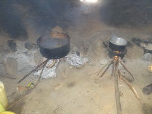 The Water Project:  Cookstove With Food Cooking