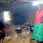 The Water Project: Isikhi Primary School -  School Chef Inside The Smokey Kitchen