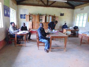 The Water Project:  Teacher In The Staffroom