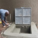 The Water Project: St. Joseph's Lusumu Primary School -  Artisan Cements Access Point
