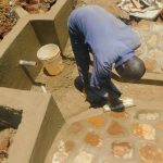 The Water Project: Shikhombero Community, Atondola Spring -  Cement Work