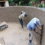 The Water Project: Kerongo Secondary School -  Cement Work