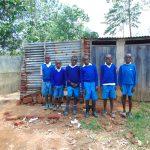 The Water Project: Jamulongoji Primary School -  Boys At Their Latrines