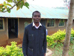 The Water Project:  Deputy Head Teacher Wycliffe Mukilingani