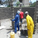 The Water Project: Ebukhuliti Primary School -  More Cement To The Pillars