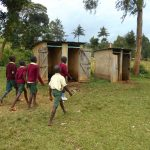 The Water Project: Wavoka Primary School -  The Gents Heading To Their Toilets