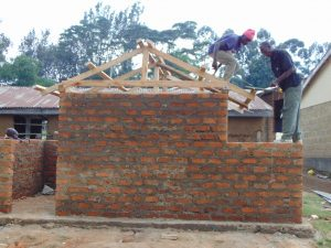 The Water Project:  Adding Timber Frames To Latrines
