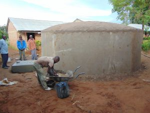 The Water Project:  Cementing The Dome