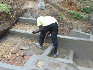 The Water Project:  Staircase Construction