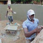 The Water Project: Kerongo Secondary School -  Interior Plaster Work