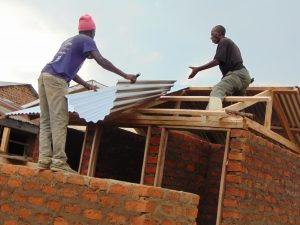 The Water Project:  Roofing The Latrines