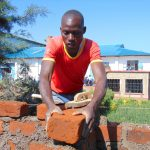 The Water Project: Kamimei Secondary School -  Building Latrines Brick By Brick