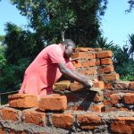 The Water Project: Kamimei Secondary School -  Getting Every Brick Right