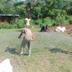 The Water Project: Kipchorwa Primary School -  Preparing Rain Tank Dome