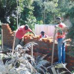 The Water Project: Kamimei Secondary School -  Latrine Work