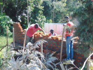 The Water Project:  Latrine Work