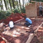 The Water Project: St. Joseph's Lusumu Primary School -  Latrine Foundation Work