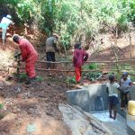 The Water Project: Kisasi Community, Edward Sabwa Spring -  Fencing