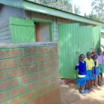 The Water Project: Shikomoli Primary School -  Boys At Their Latrines
